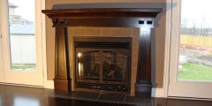 Arts & Craft Surround with designer arch doors