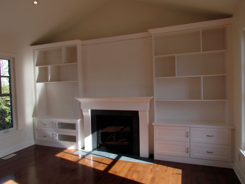 fireplace-with-shelves