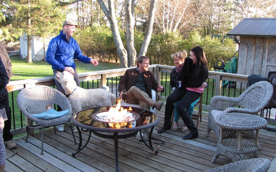 Let Martin's heat up your outdoors with Kamado Joe Grills, Fire Pits and outdoor Patio Heaters.