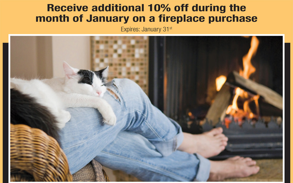 Keep the Fires Burning with Warm January Pricing