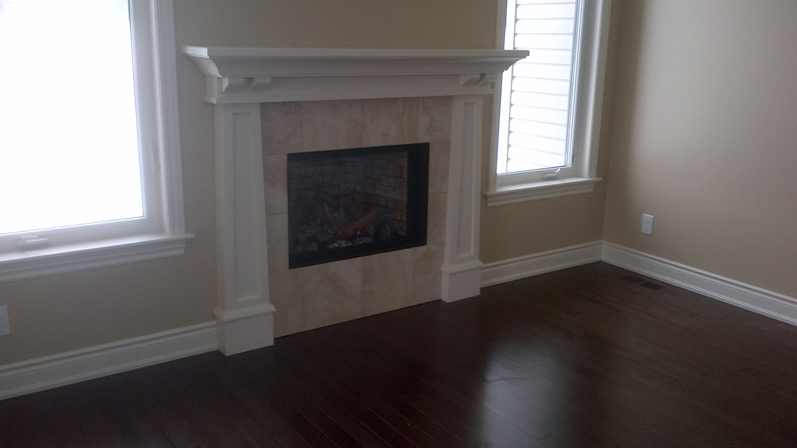 Arts and Crafts Wall mantle