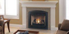 Arch Fireplace