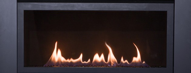 The New Savannah BL936 Contemporary Slim Line Linear gas Fireplace