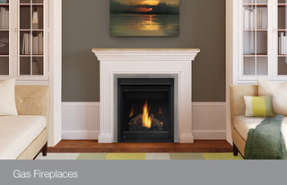 A new gas fireplace perfect for your town home or small room in your home